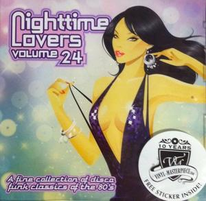 Front Cover Album Various Artists - Nighttime Lovers Volume 24