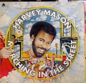 Front Cover Album Harvey Mason - Marching In The Streets