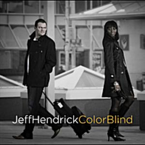 Front Cover Album Jeff Hendrick - COLOR BLIND