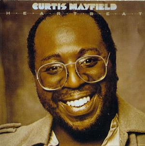 Front Cover Album Curtis Mayfield - Heartbeat