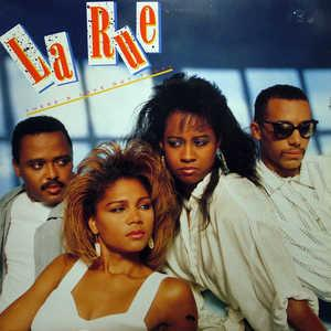 Front Cover Album La Rue - THERE'S LOVE OUT THERE