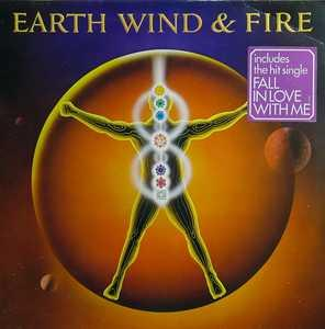 Front Cover Album Wind & Fire Earth - Powerlight