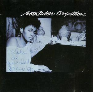 Front Cover Album Anita Baker - Compositions