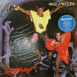 Front Cover Album Imagination - Scandalous