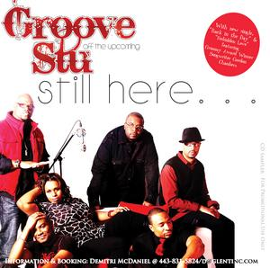 Front Cover Album Groove Stu - Still Here