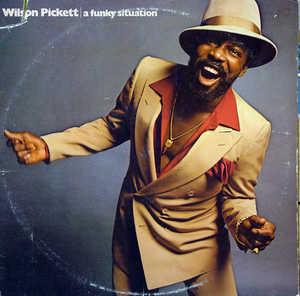 Front Cover Album Wilson Pickett - A Funky Situation