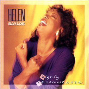 Front Cover Album Helen Baylor - Highly Recommended