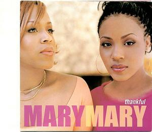 Front Cover Album Mary Mary - Thankful