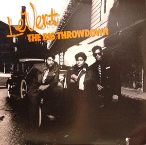 Front Cover Album Levert - The Big Throwdown