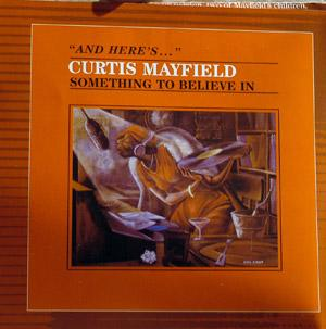 Front Cover Album Curtis Mayfield - Something To Believe In