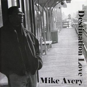 Front Cover Album Mike Avery - Destination Love