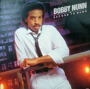 Front Cover Album Bobby Nunn - Second To Nunn