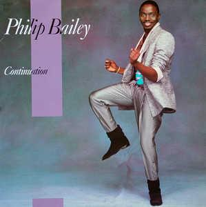 Front Cover Album Philip Bailey - Continuation