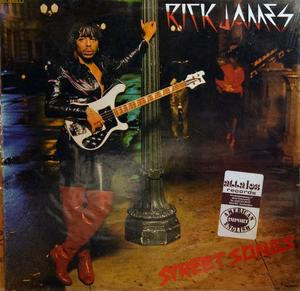 Front Cover Album Rick James - Street Songs