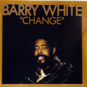 Front Cover Album Barry White - Change