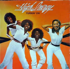Front Cover Album High Inergy - Turnin' On