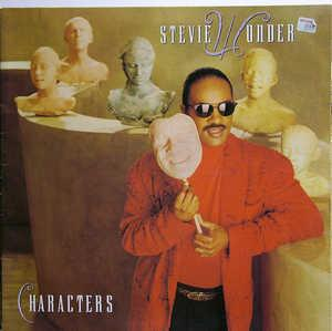 Front Cover Album Stevie Wonder - Characters