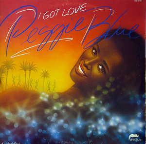 Front Cover Album Peggi Blu - I Got Love
