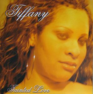 Front Cover Album Tiffany - Tainted Love