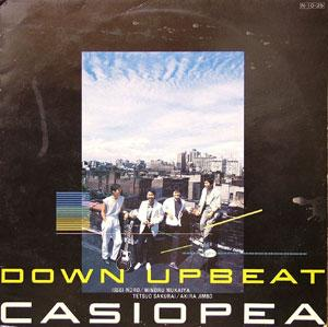 Front Cover Album Casiopea - Down Upbeat
