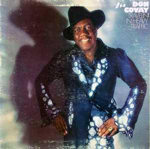 Front Cover Album Don Covay - Travelin' In Heavy Traffic