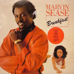 Front Cover Album Marvin Sease - Breakfast