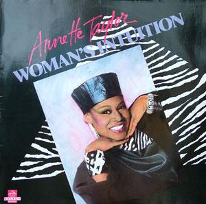 Front Cover Album Annette Taylor - Woman's Intuition