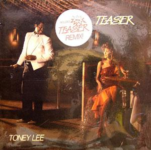 Front Cover Album Toney Lee - Teaser