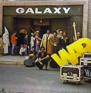 Front Cover Album War - Galaxy