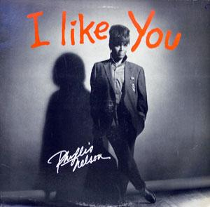 Front Cover Album Phyllis Nelson - I Like You