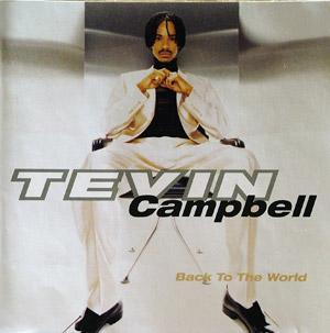 Front Cover Album Tevin Campbell - Back To The World
