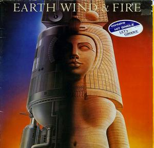 Front Cover Album Wind & Fire Earth - Raise!