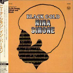 Front Cover Album Nina Simone - Black Gold