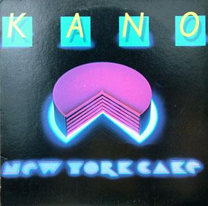 Front Cover Album Kano - New York Cake