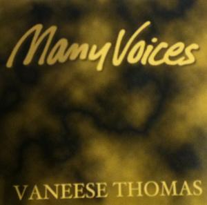 Front Cover Album Vaneese Thomas - Many Voices