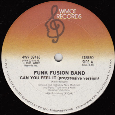 Funk Fusion Band - Can You Feel It